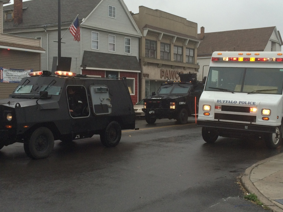 Kaisertown standoff ends with arrest