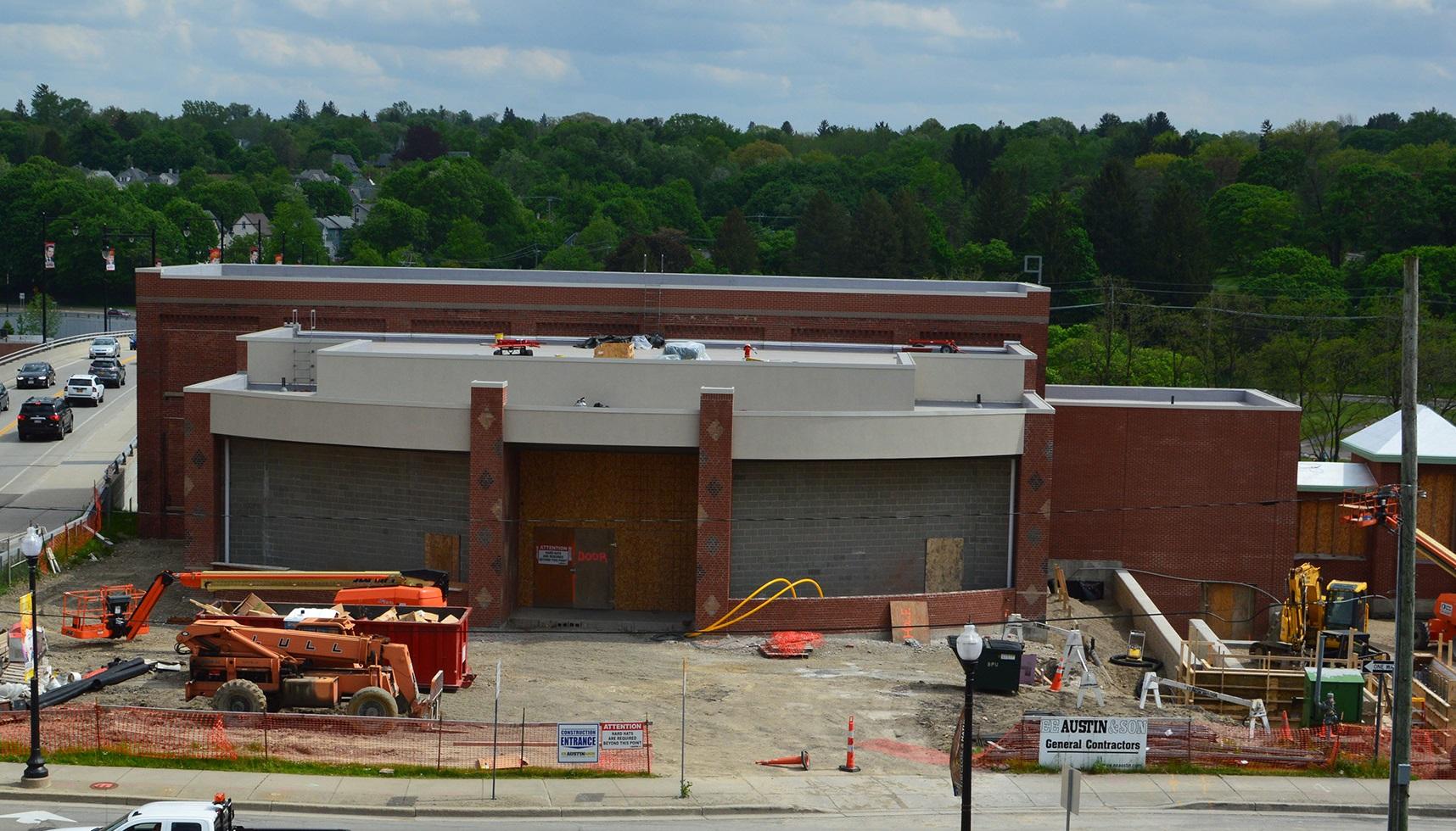 Construction on NAt Comedy Center Jamestown_407186