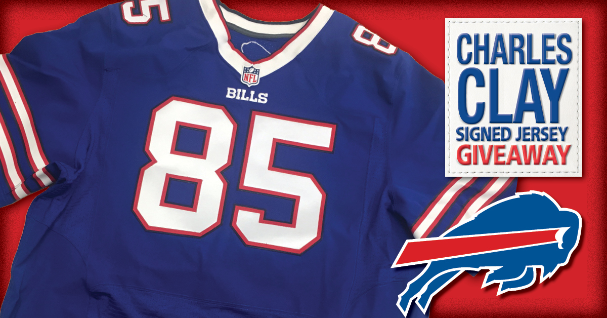 Win An Autographed Charles Clay Jersey