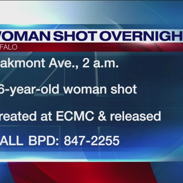 Woman shot at Oakmont Ave.