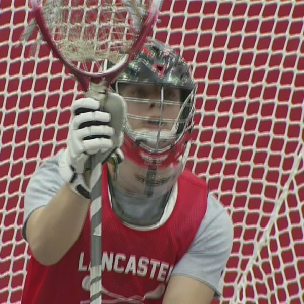 Lancaster's Ben Mazur Named April Male Scholar Athlete