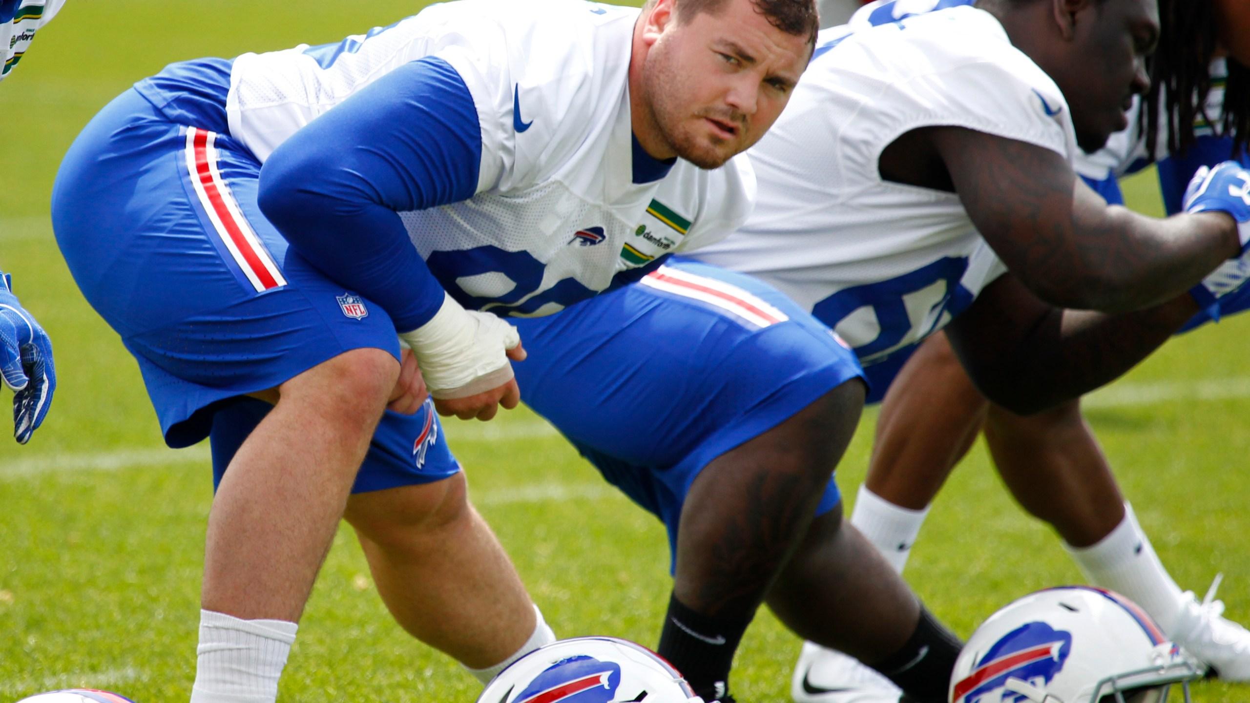 Bills Rookie Camp Football_1527706901083