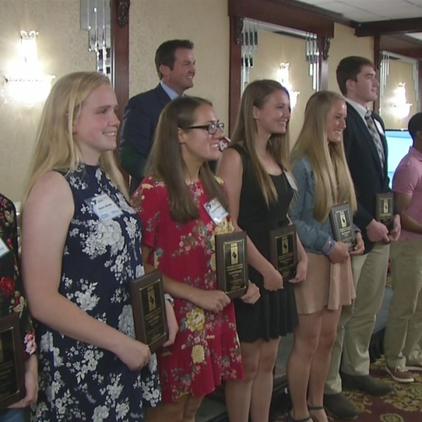 Ben Mazur, Abby Borkowski Named 2018 Scholar Athlete Scholarship Winners