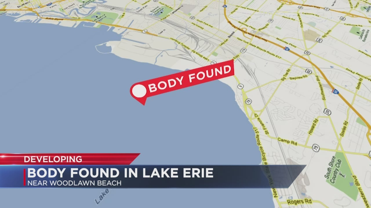 Body found in Lake Erie off of Woodlawn Beach