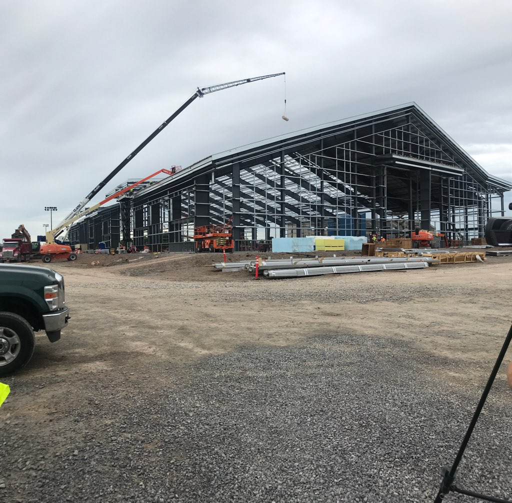 INSIDE LOOK: New UB Fieldhouse less than a year away from