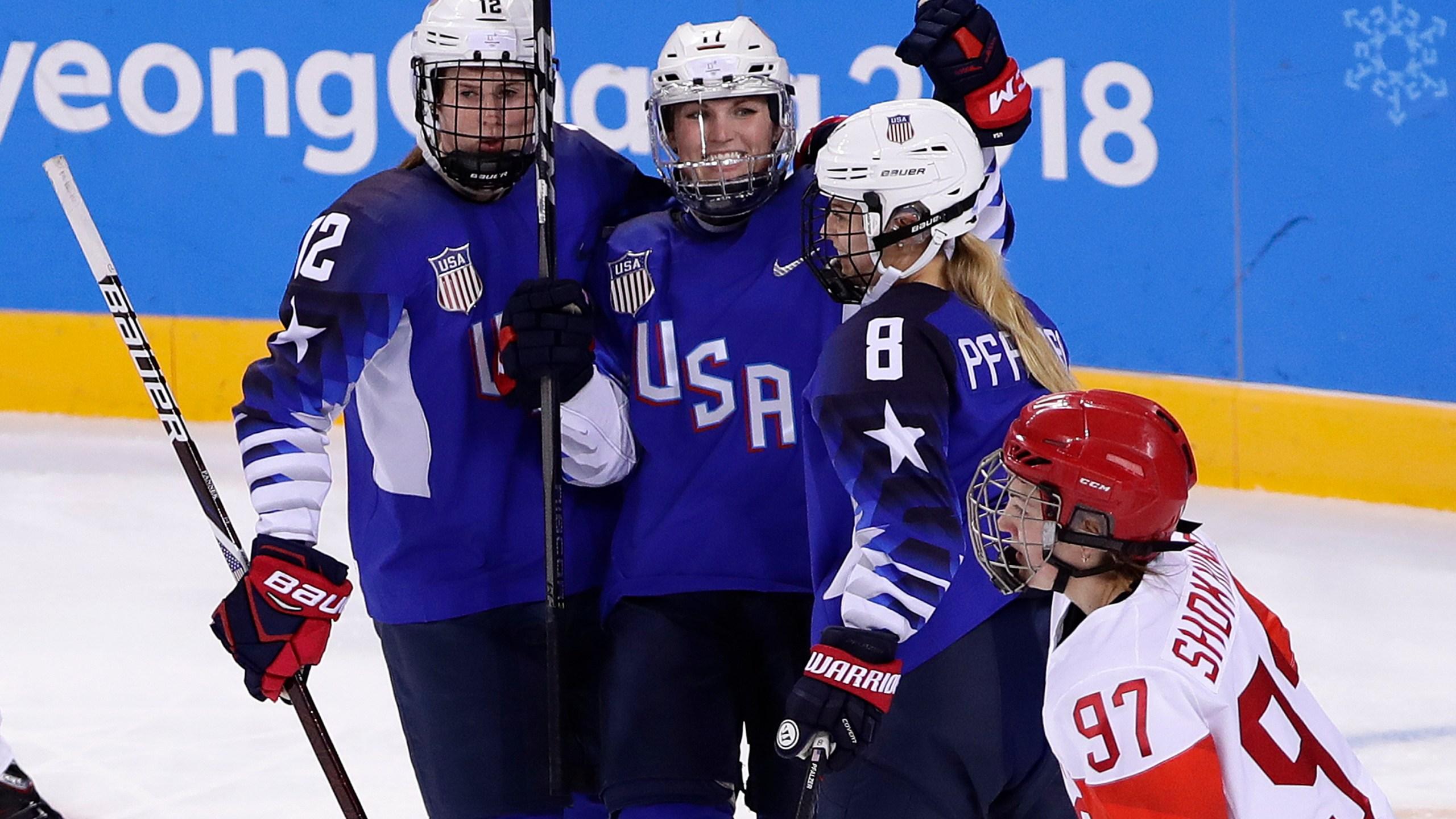 Pyeongchang Olympics Ice Hockey Women_1531960418522