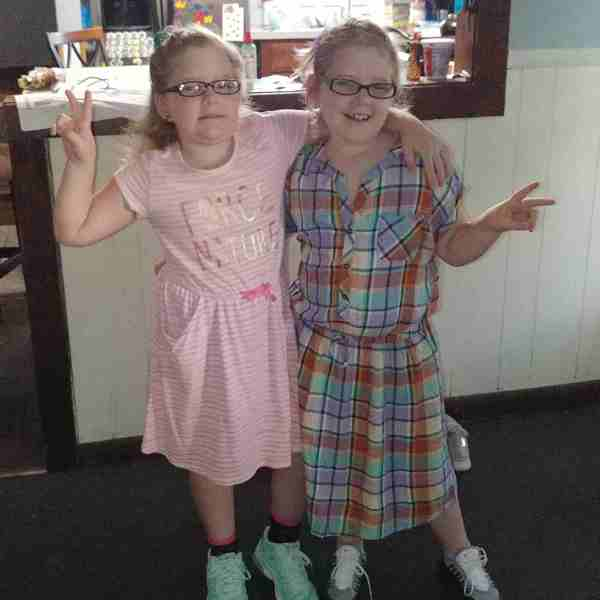 They're starting 3rd grade. Photo courtesy of Alicia_1536236678267.jpg.jpg
