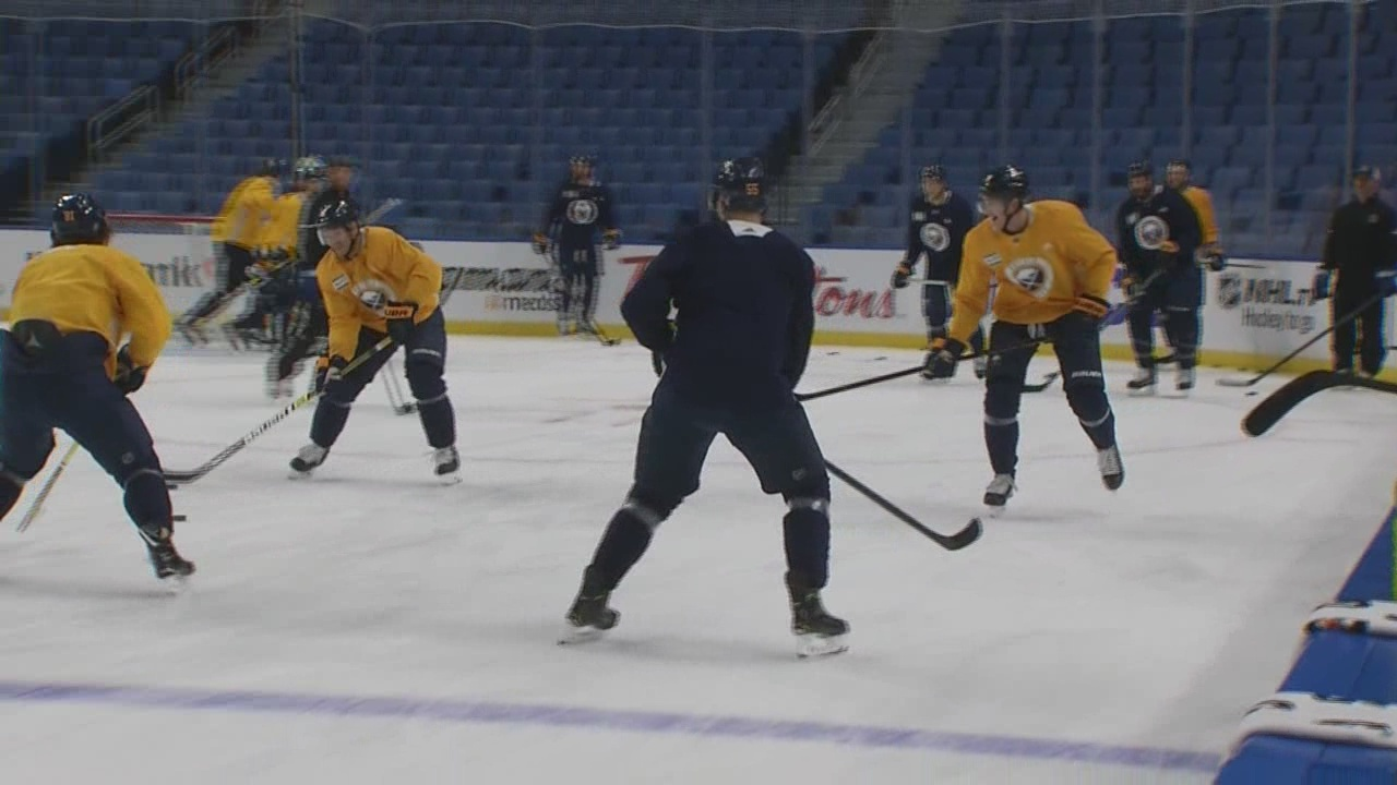 Sabres return from West Coast trip with strong bond