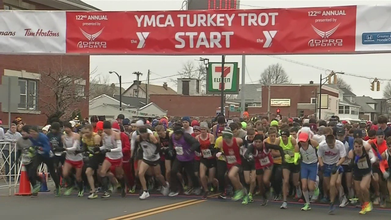 registration for annual ymca turkey trot opens tuesday