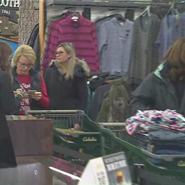 Black Friday shopping in Cheektowaga