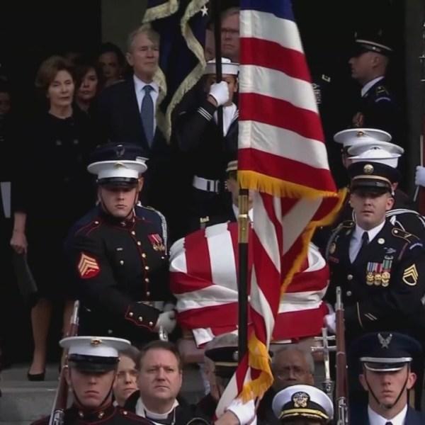 Bush funeral