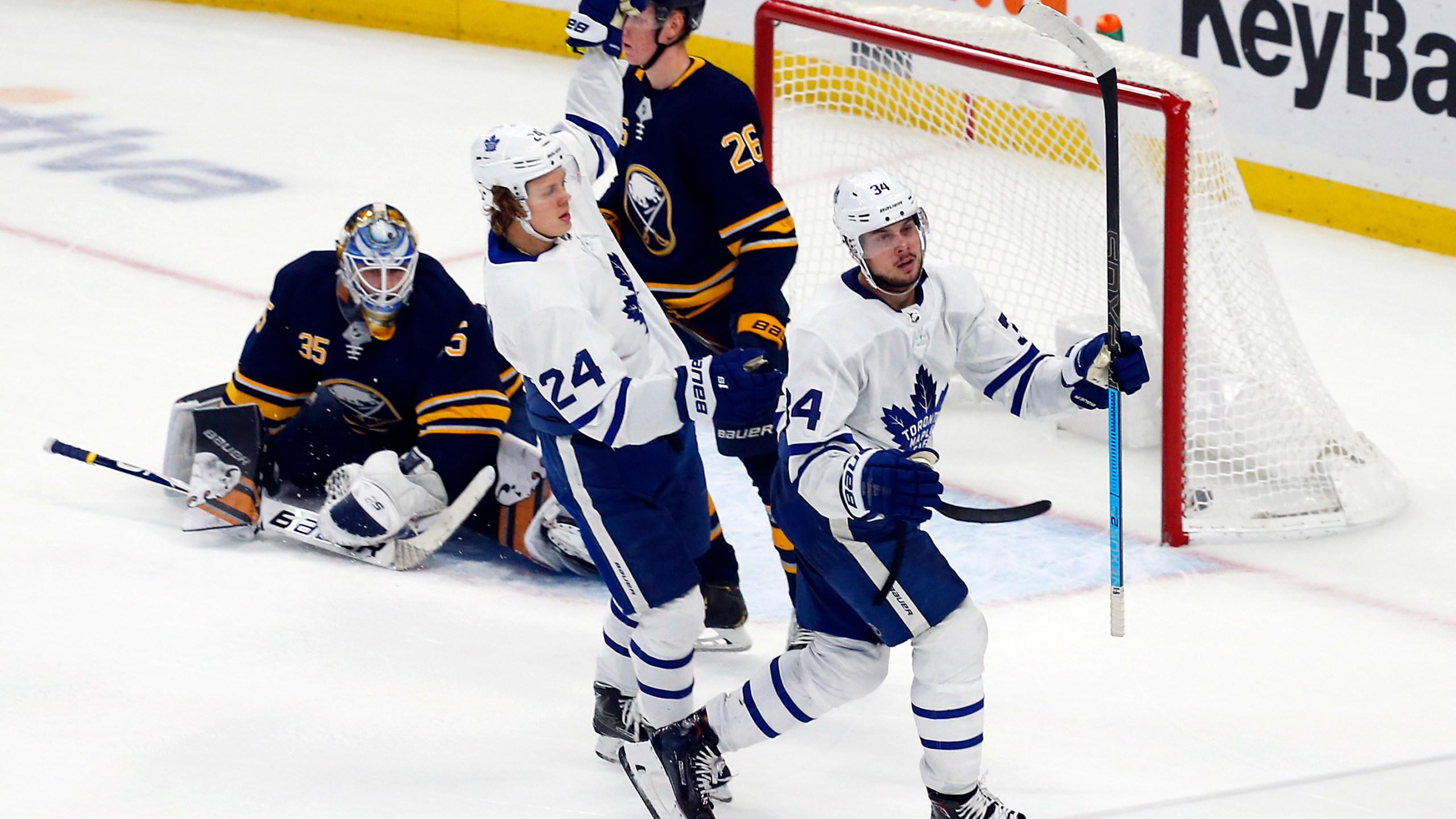 APTOPIX Leafs Sabres Hockey_1543985636098