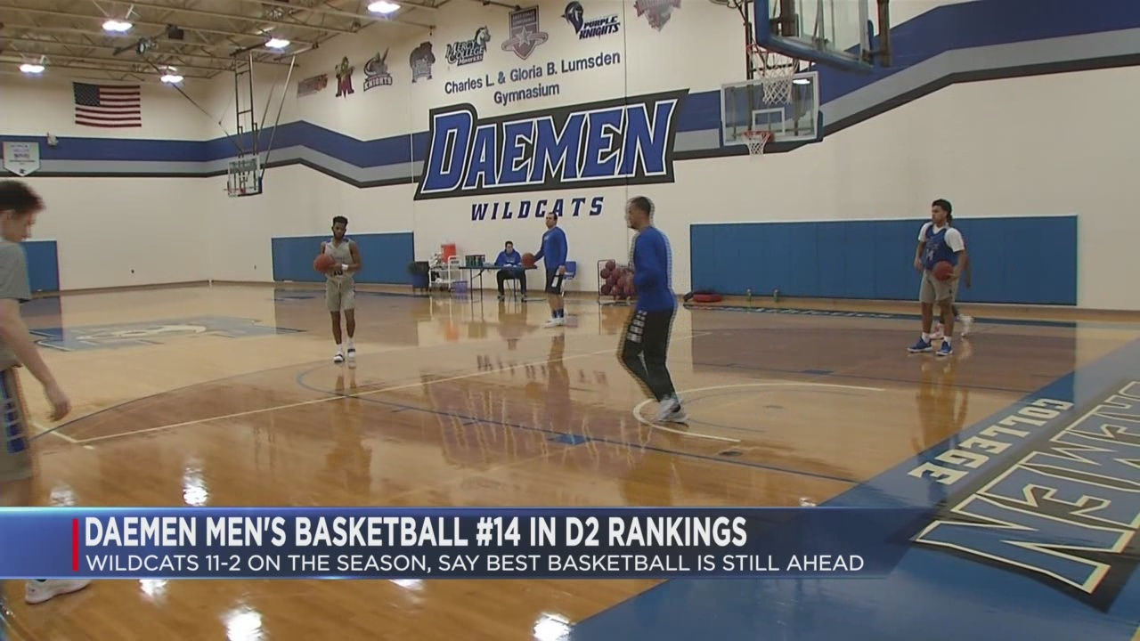 Daemen cracks Top 25 rankings
