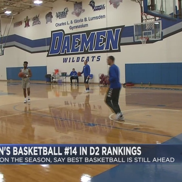 Daemen cracks Top 25 rankings