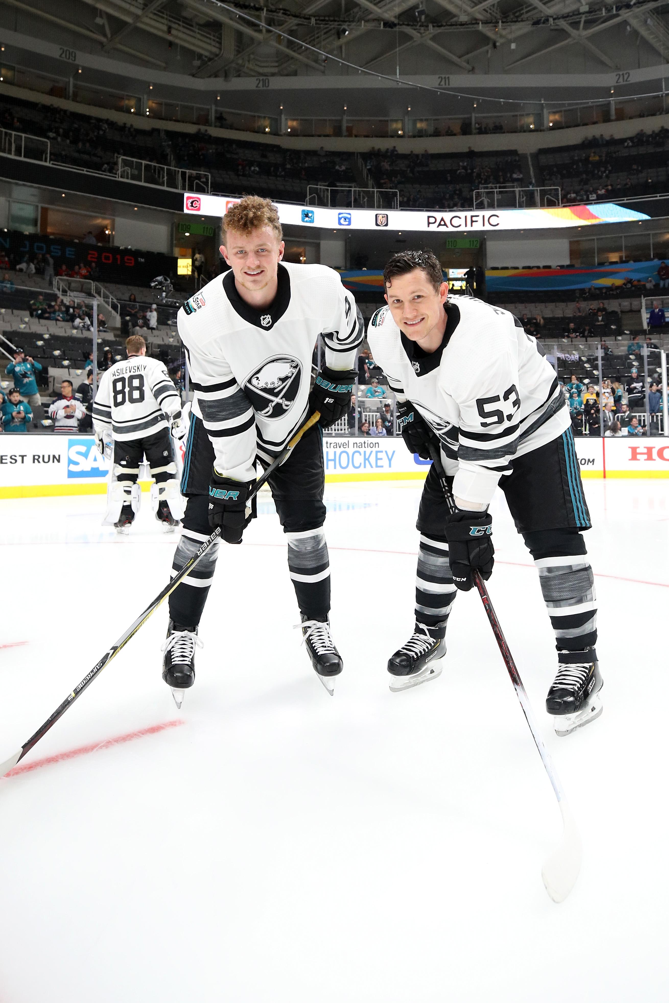 online store e95d5 93598 Eichel & Skinner score but get eliminated in NHL All-Star ...