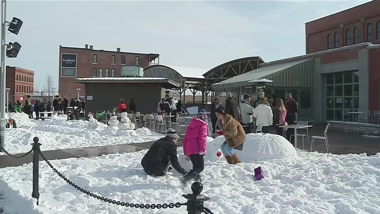 Larkinville Ice Festival