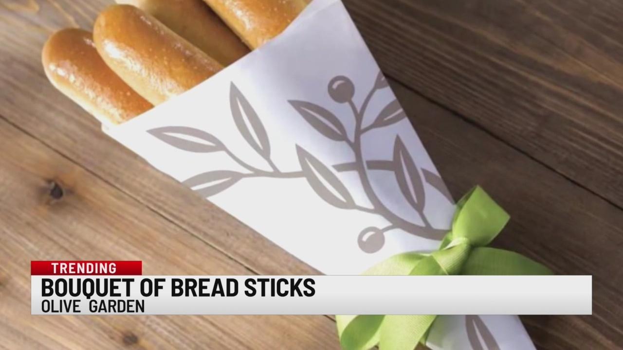 Olive Garden Creates Breadstick Bouquets