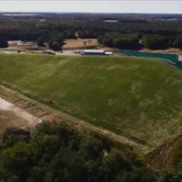 Lockport landfill to be covered in artificial turf