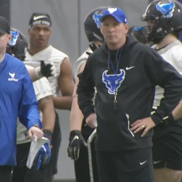 UB practices at new facility