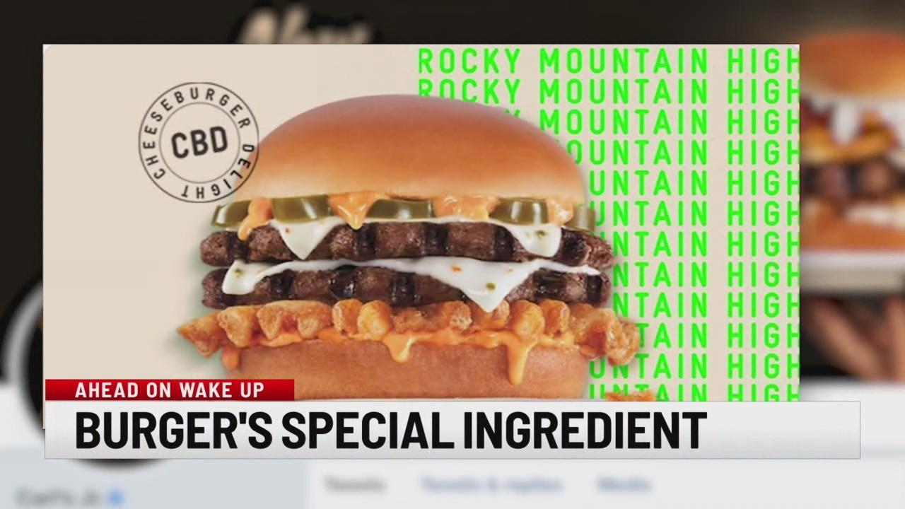 A burger's special ingredient