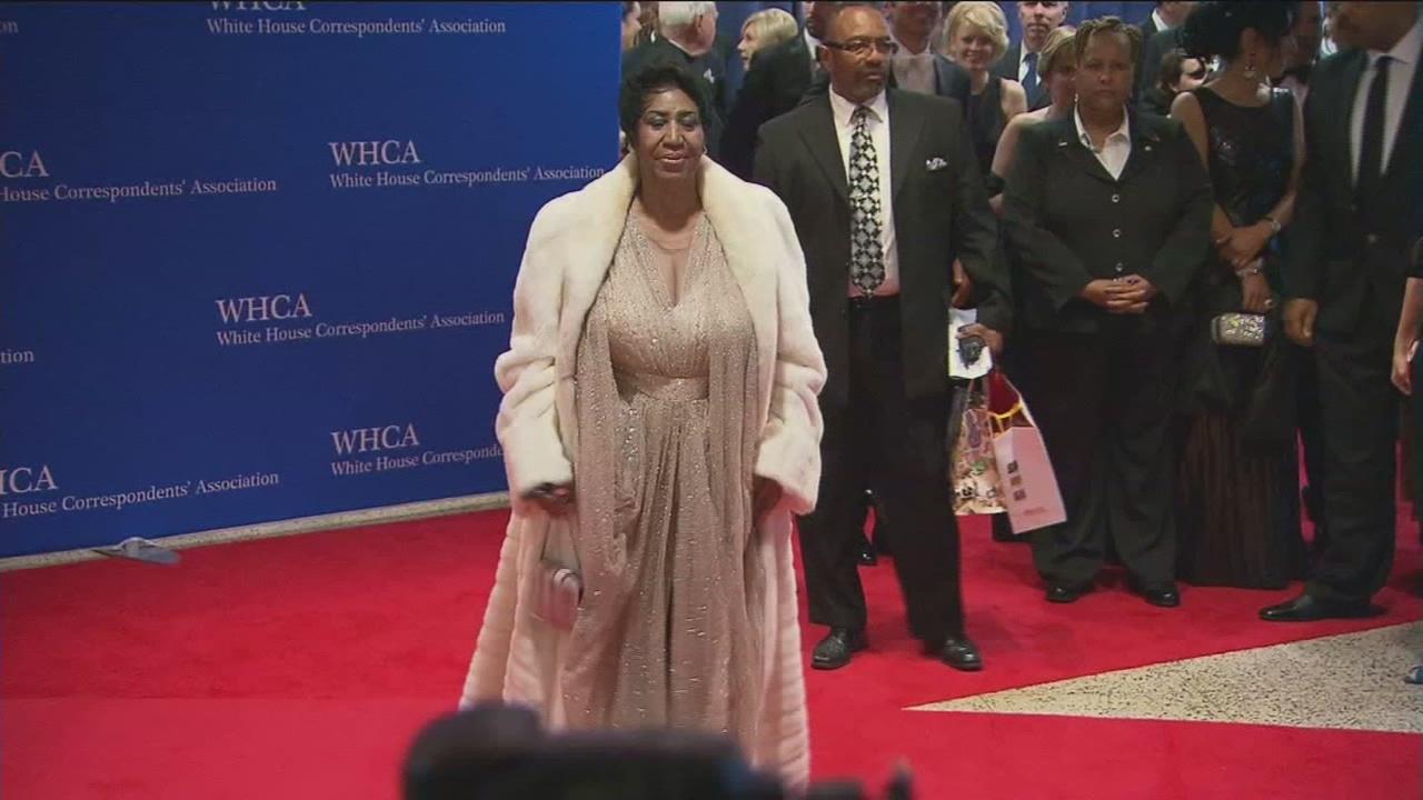 Aretha Franklin receives Pulitzer Prize