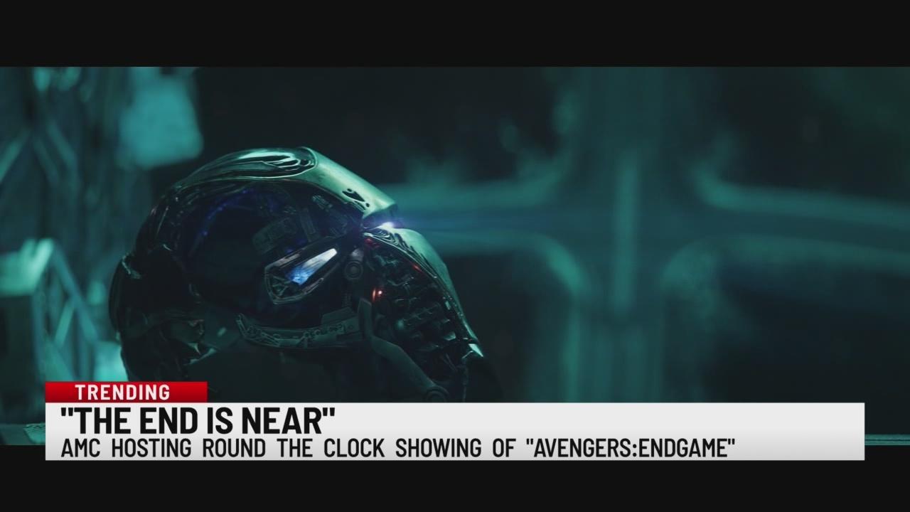 Avengers marathon at AMC theaters
