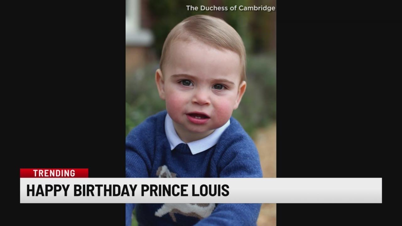 Happy Birthday, Prince Louis!