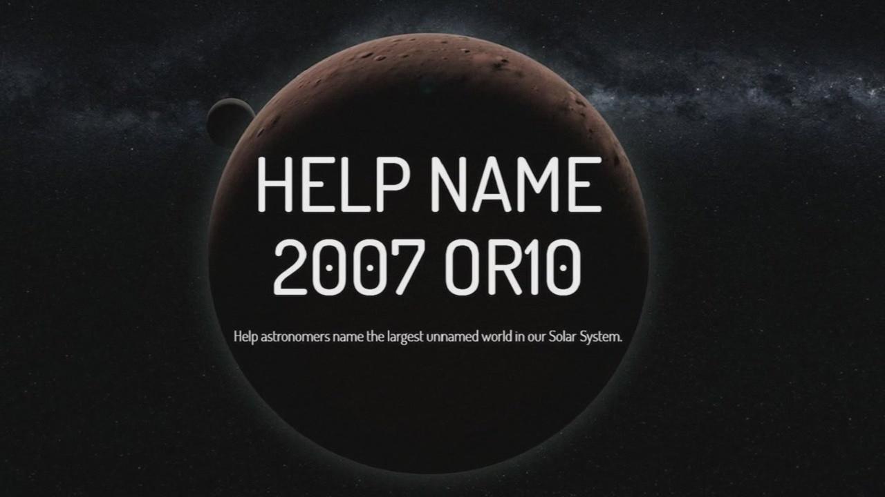 Naming planet