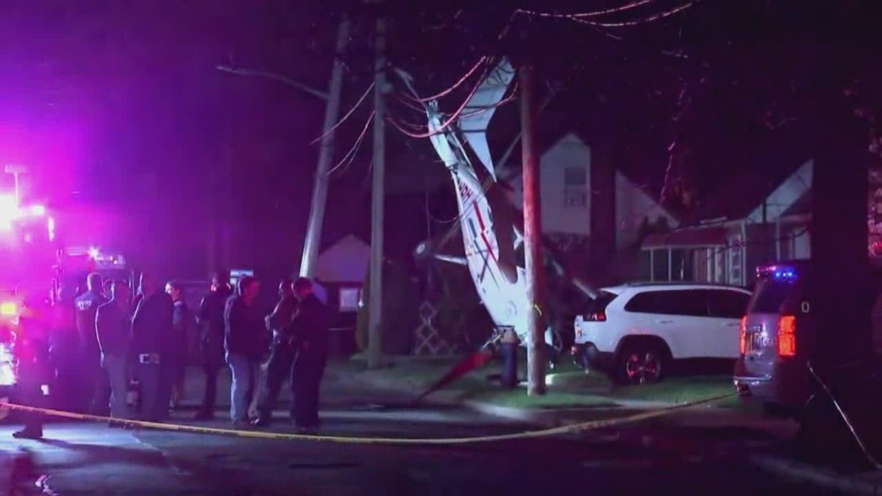 Plane crash on Long Island