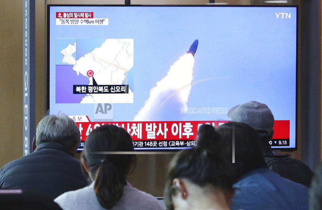 South Korea North Koreaa Projectile_1557405383912