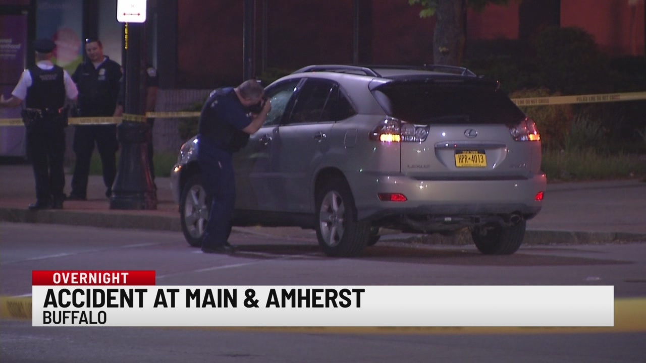 Accident at Main and Amherst