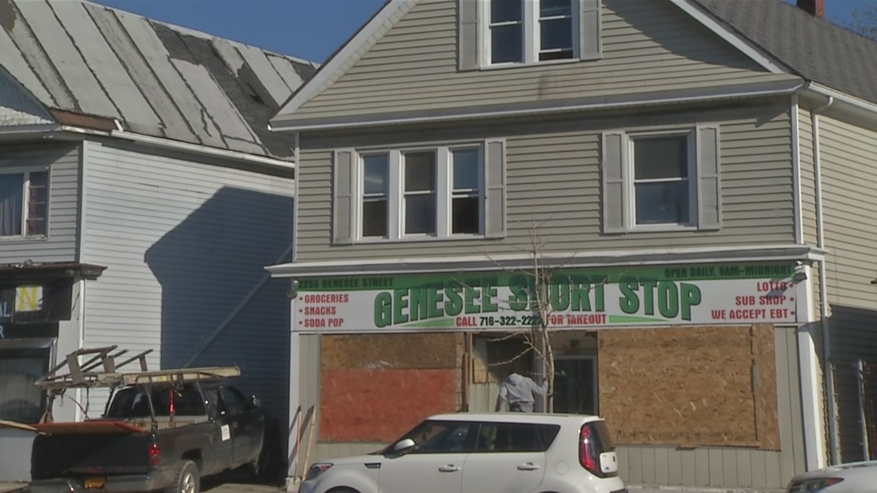 Arson believed to be cause of fire on Genesee St.