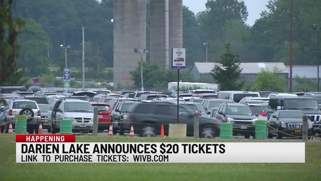 Darien Lake announces $20 tickets
