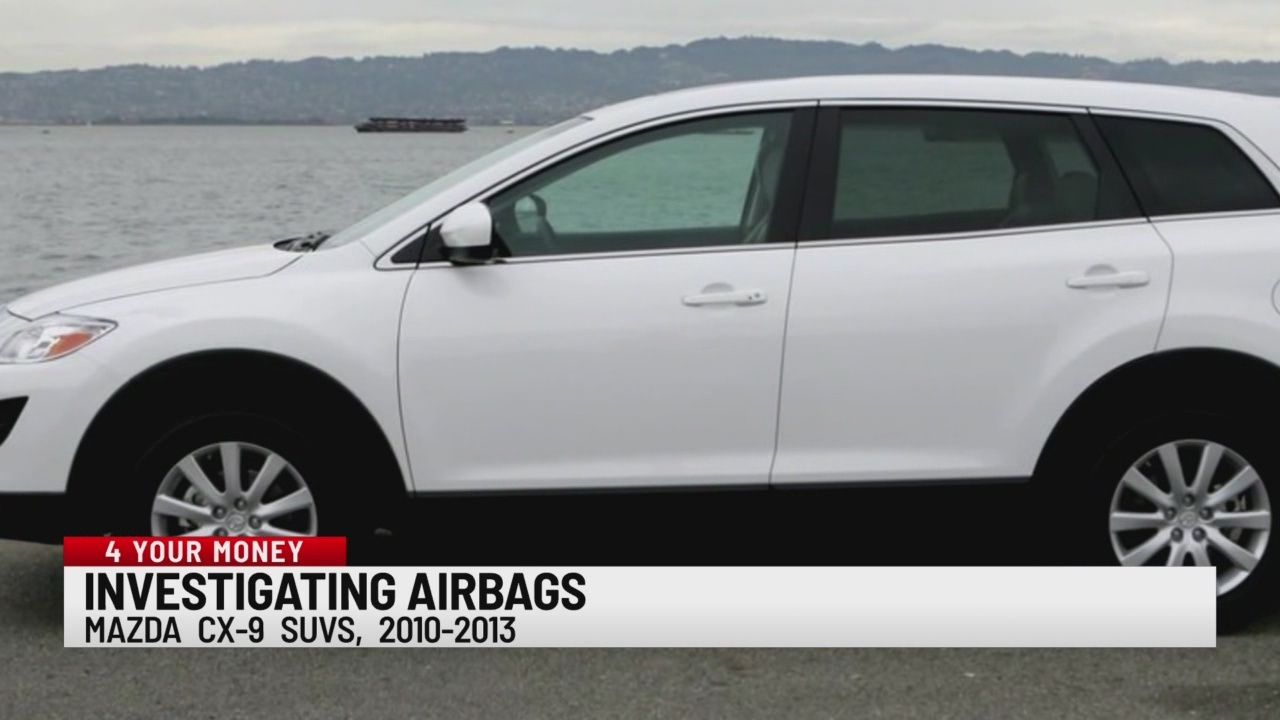 Investigating airbags in Mazda vehicles