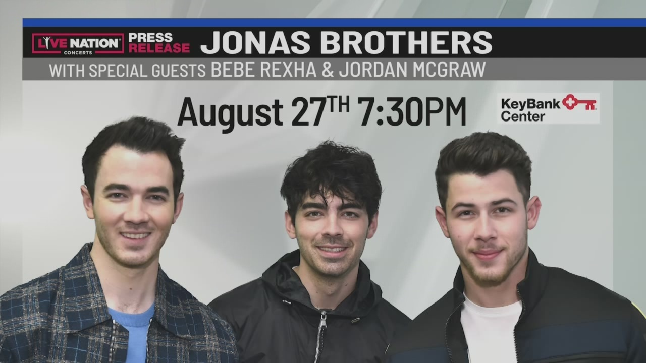 Jonas Brothers coming to KeyBank Center