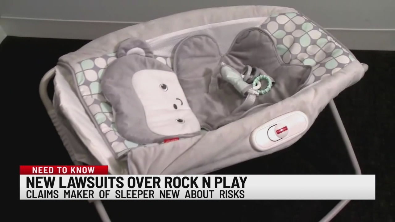 New lawsuits over Rock N Play