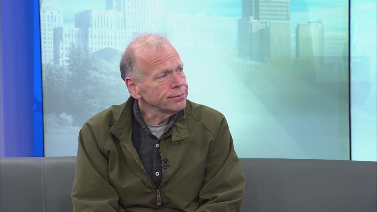 Tim Clark speaks on News 4