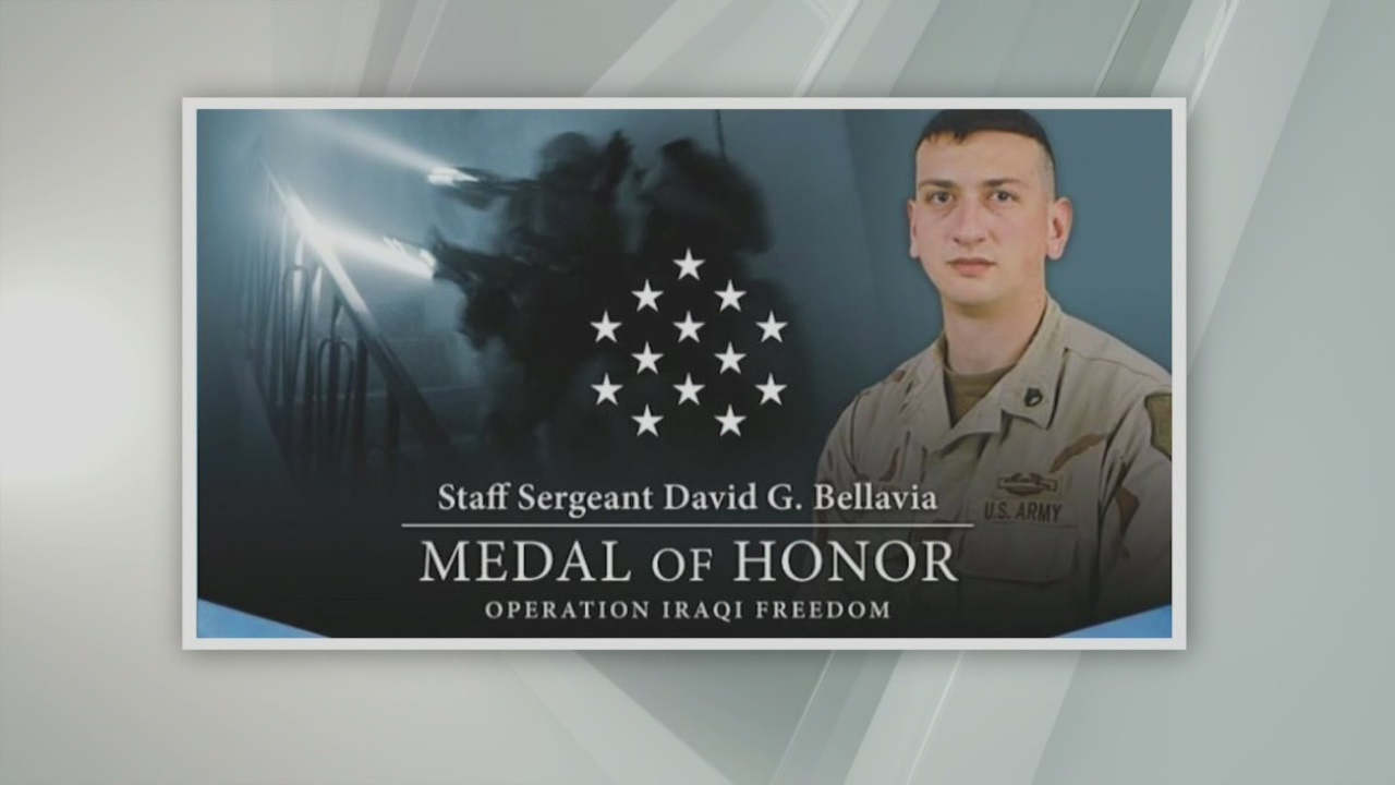 Bellavia first living Iraq War veteran to receive Medal of Honor