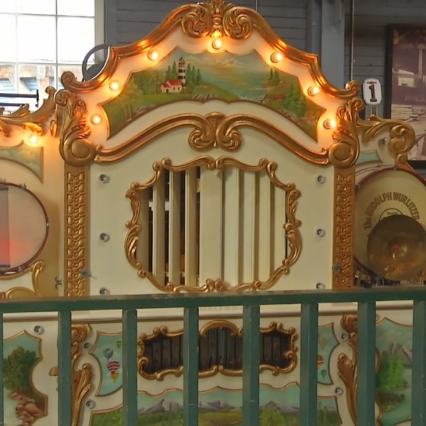 Canalside Carousel nearing completion
