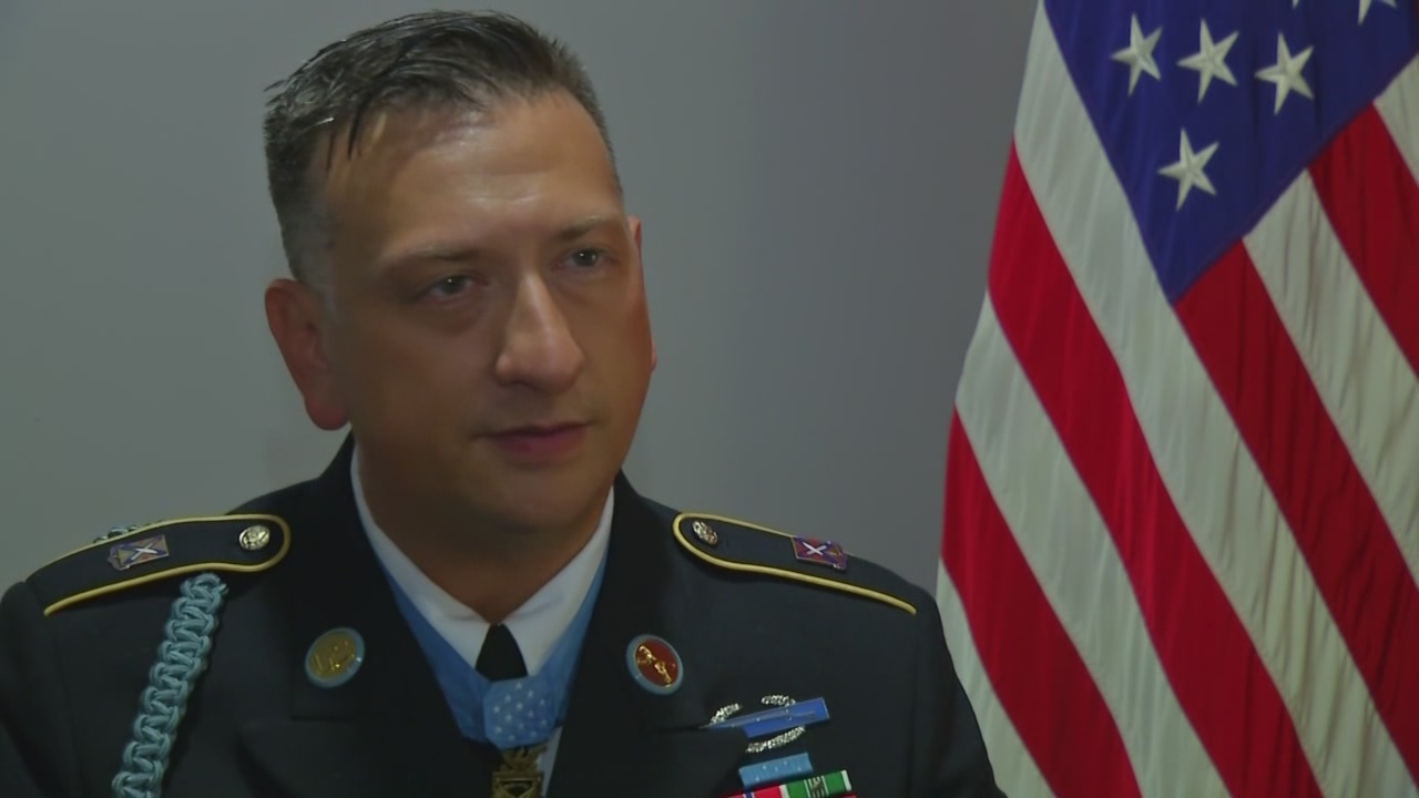 David Bellavia inducted into Pentagon's Hall of Heroes