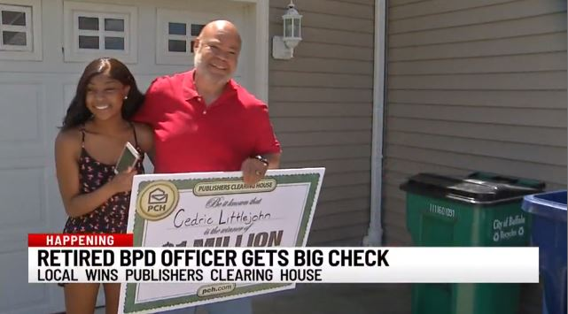 Retired Buffalo Police Officer wins $1 million dollars in