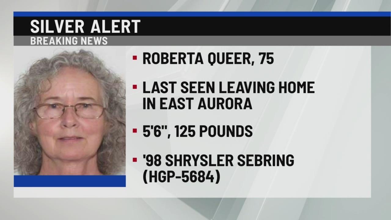 SIlver Alert for East Aurora