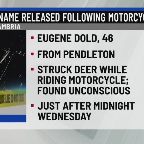 Victim of motorcycle crash identified