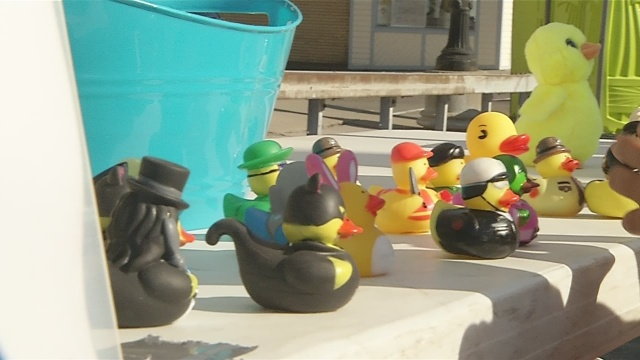 Duck race supporting Community Missions returns to Canal Fest Saturday