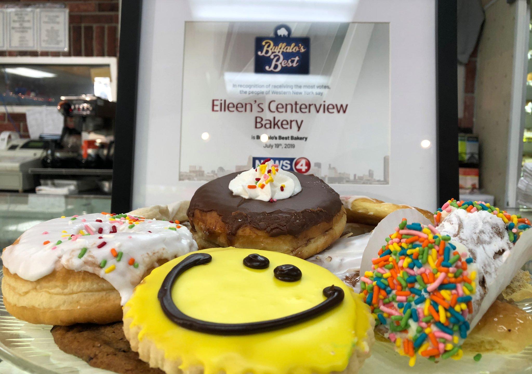 Groovy Buffalos Best Bakery Eileens Centerview Bakery News 4 Buffalo Funny Birthday Cards Online Necthendildamsfinfo