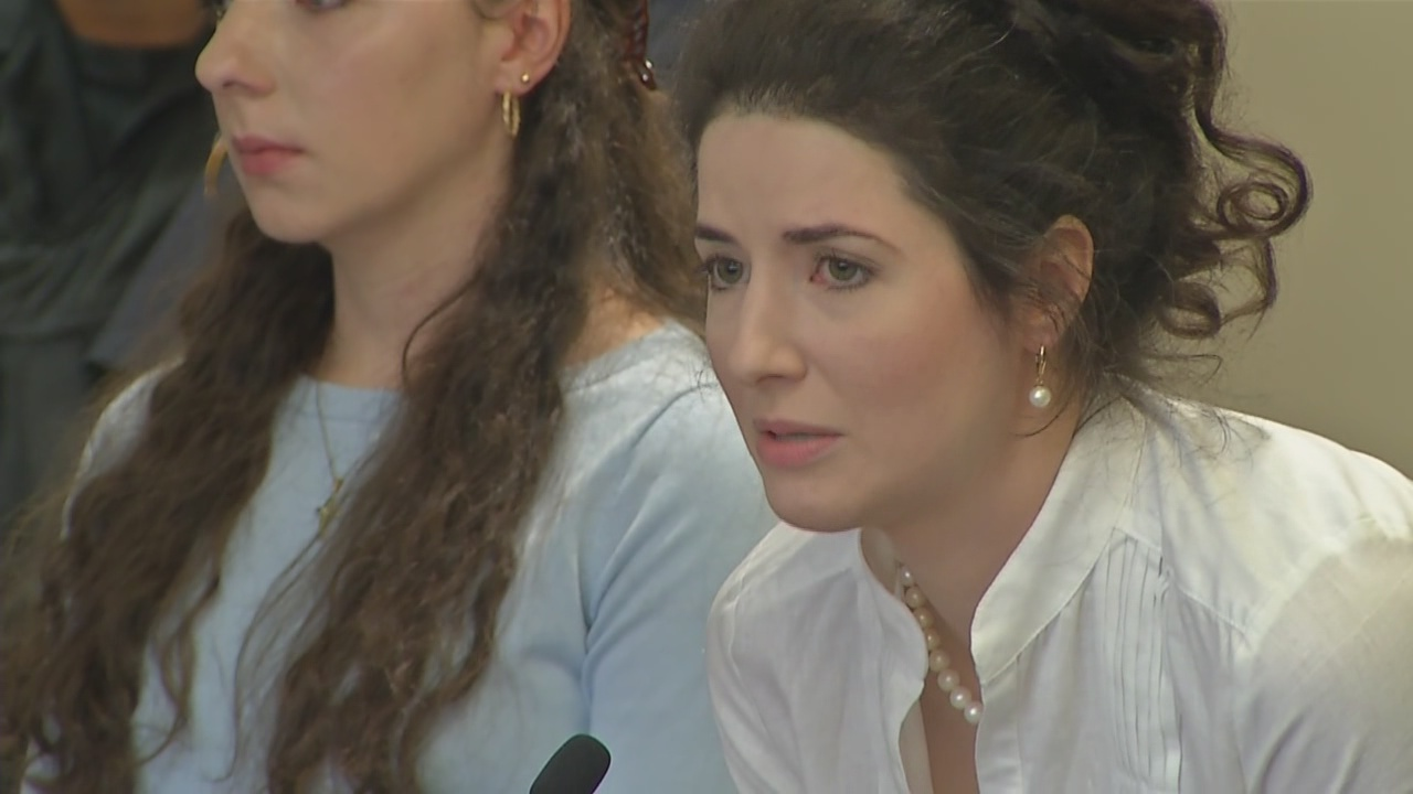 sisters speak out at their sentencing for abusing father