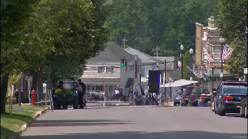 Village of Akron becomes movie set for 'A Quiet Place 2'