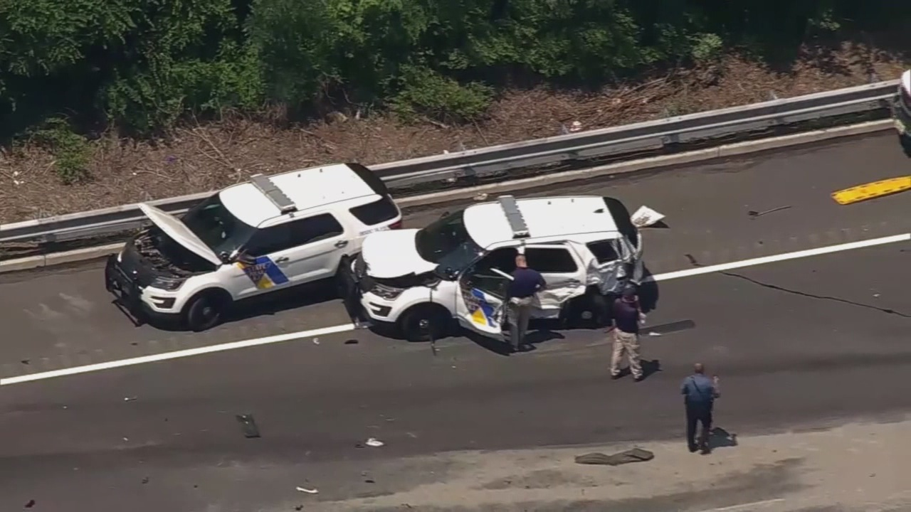 dump truck hits two state troopers  several pedestrians in new jersey