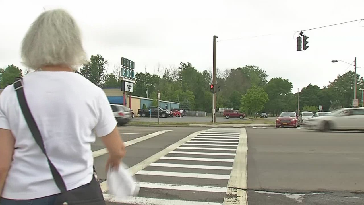 study says deadly part of niagara falls blvd  to see improvements for pedestrians