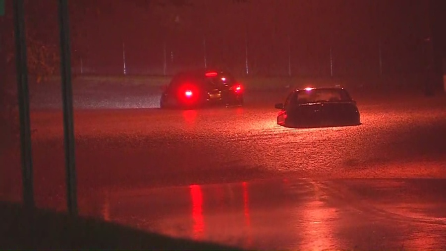 PHOTOS: Storms, flooding impact the morning commute